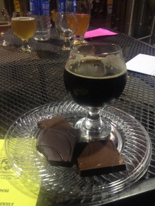 Oatty Stout and Kyya chocolate