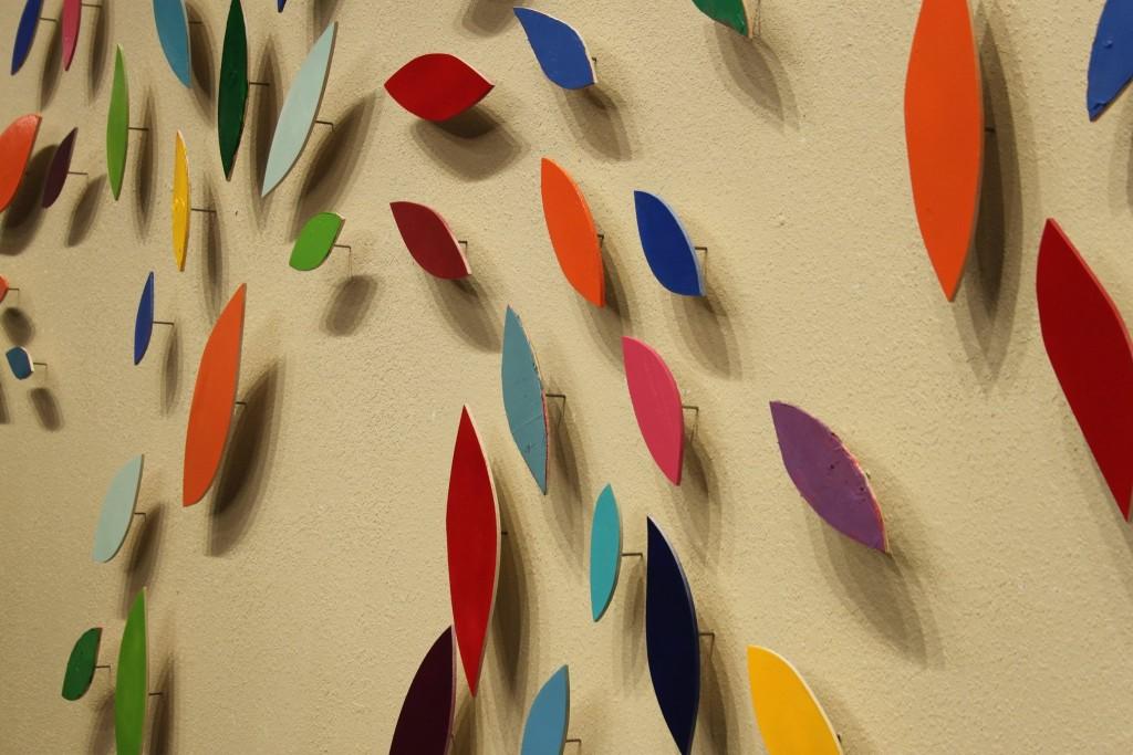 "Steve Adair Unveils ""Leaf Forms"" Installation at Art Center of the Ozarks"