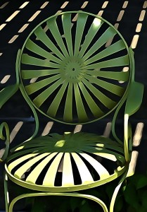 Chair and Stripes by John Watson