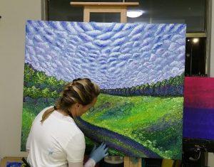 Amanda Wathen painting