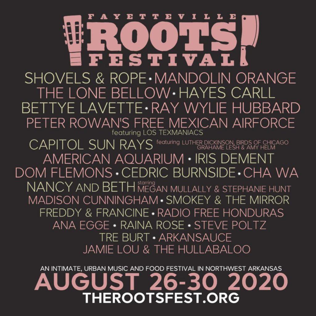 Roots Fest 2020 lineup